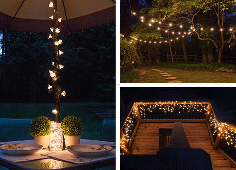 Patio Lighting, Outdoor And Patio Lighting Ideas