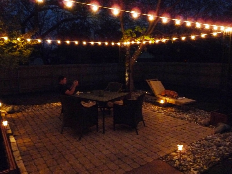 Patio Lighting, The Happy Homebodies