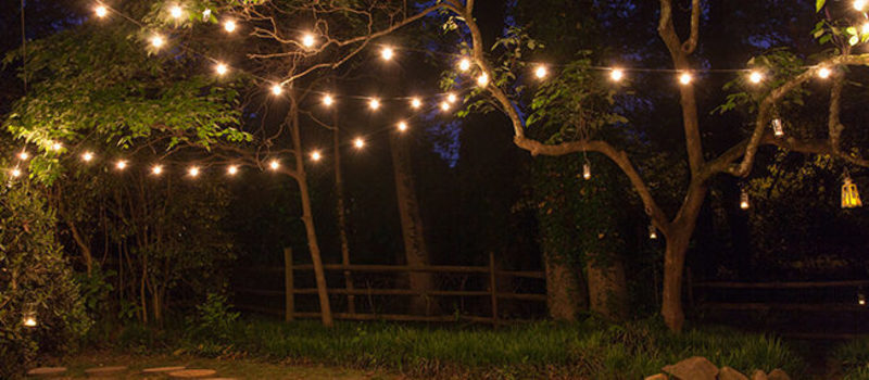 Patio Lighting, How To Hang Patio Lights