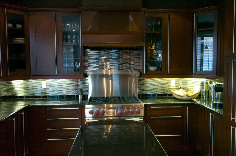 Stainlees Steel Backsplash, Stainless Steel Backsplash Tiles Ideas — Tile Designs