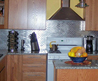 Stainless Steel Backsplash Kitchen