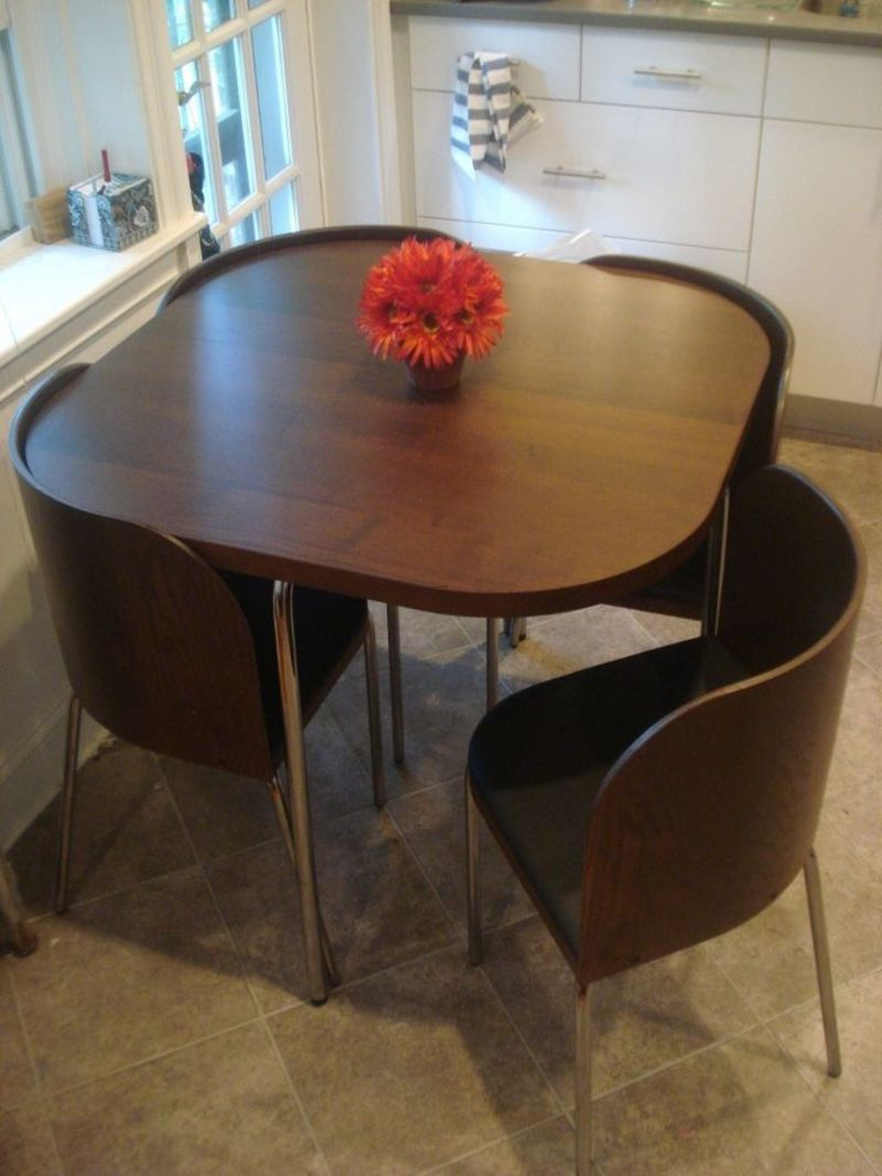 saving kitchen tables 1000 ideas about space saving dining table