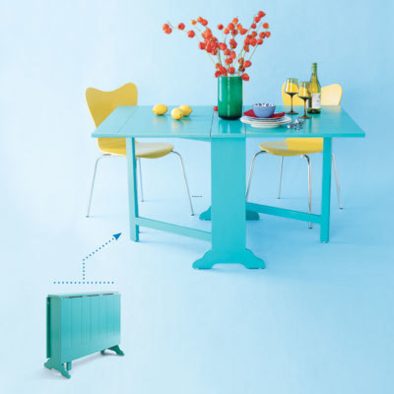 Space Saving Kitchen Tables, Drop Leaf Dinette 10 Smart Space Saving Tables This Old House Space Saving Kitchen Table