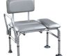 Drive Medical Padded Transfer Adjustable Handicap Shower Chair