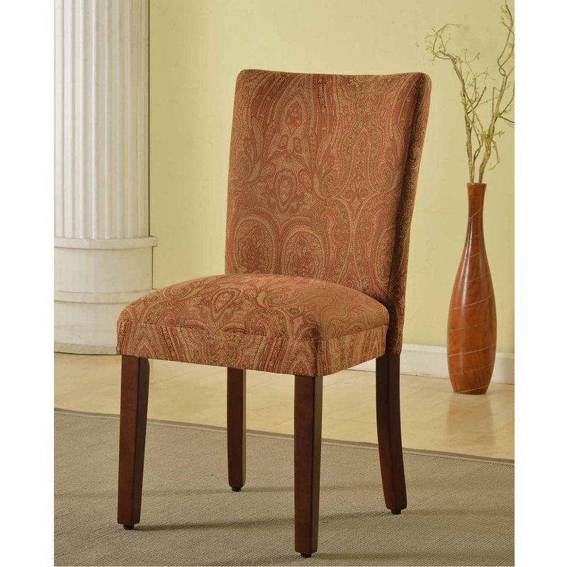 Red Slipcover For Parsons Chair, Dining & Kitchen