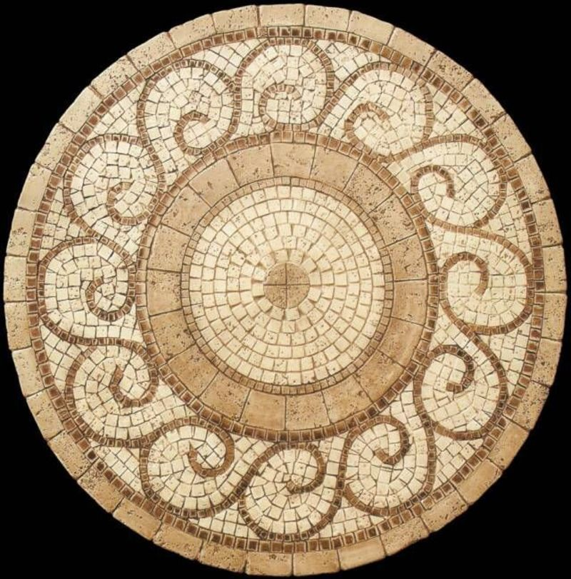 Mosaic Tile Table Top Pattern, 1000+ Ideas About Mosaic Table Tops On Pinterest