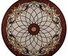 Marble Tile Round Mosaic Medallion Floor Pattern, Entry Floor Marble Medallion, Mosaic Tabletop Patterns From China