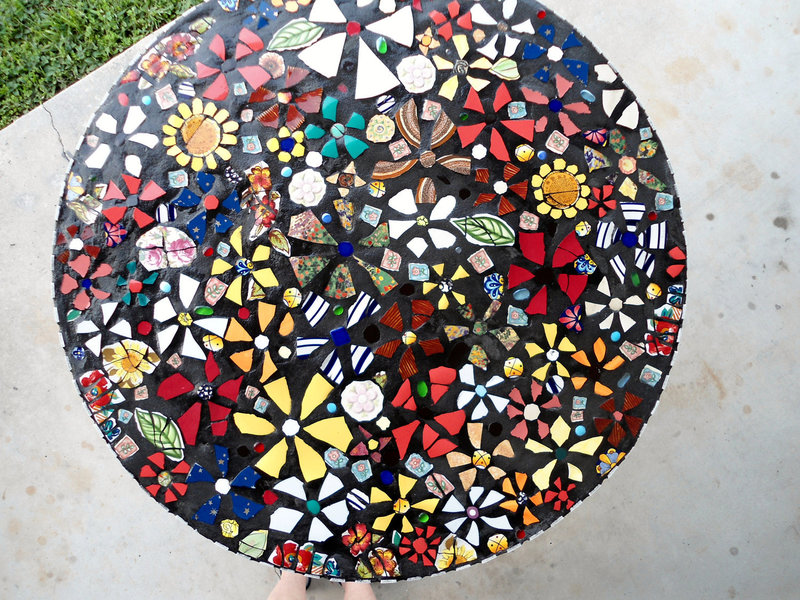 Mosaic Tile Table Top Pattern, 1000+ Images About Table Tops On Pinterest