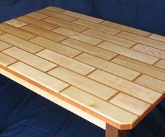 Building A Tile Patterned Table Top