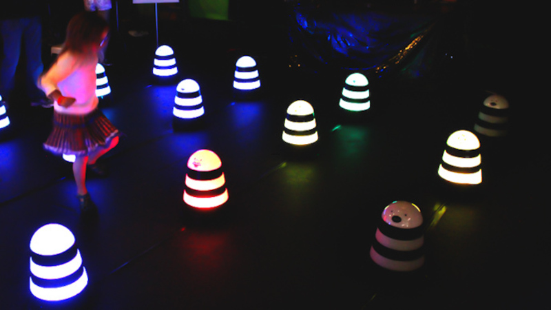 Fun Kids Light Installation, Imsound