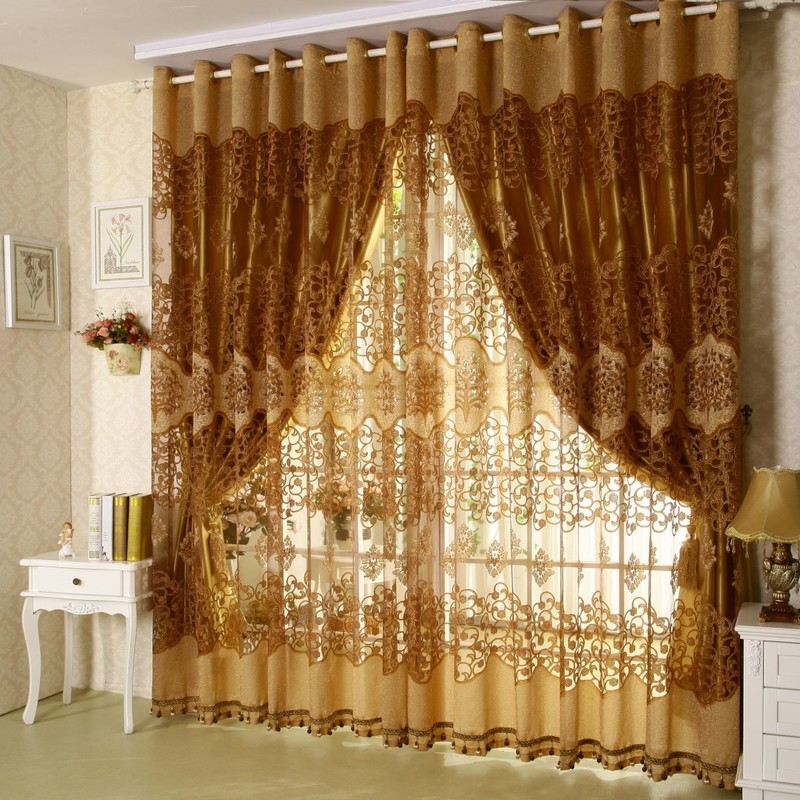 Curtains For A Living Room, Furniture