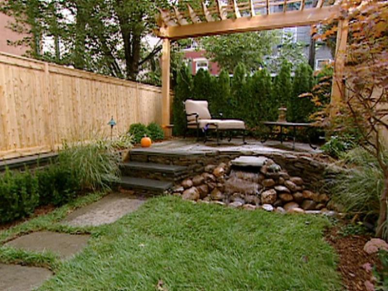 Small Back Yard Landscaping Ideas, Small Yards, Big Designs