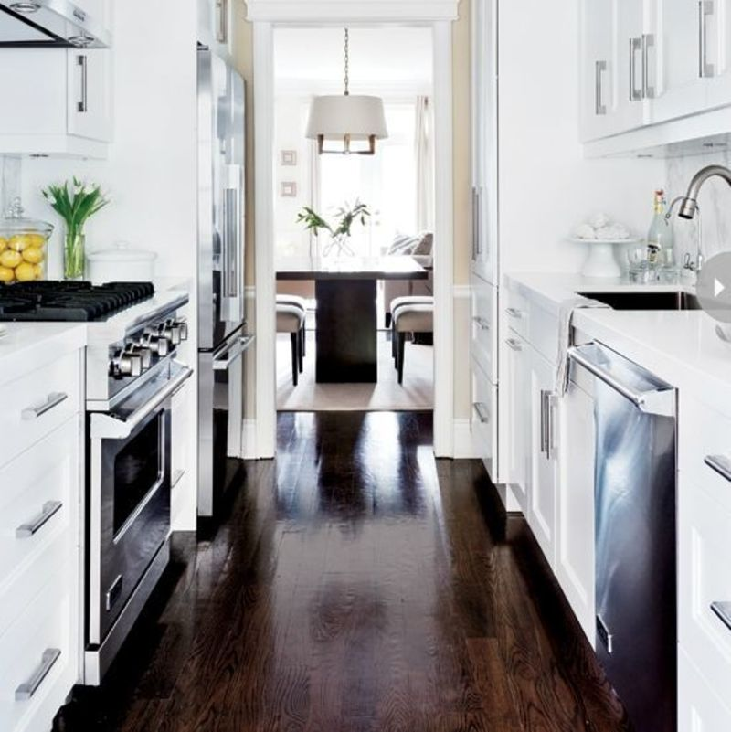 1000 Ideas About Galley Kitchen Design On Pinterest