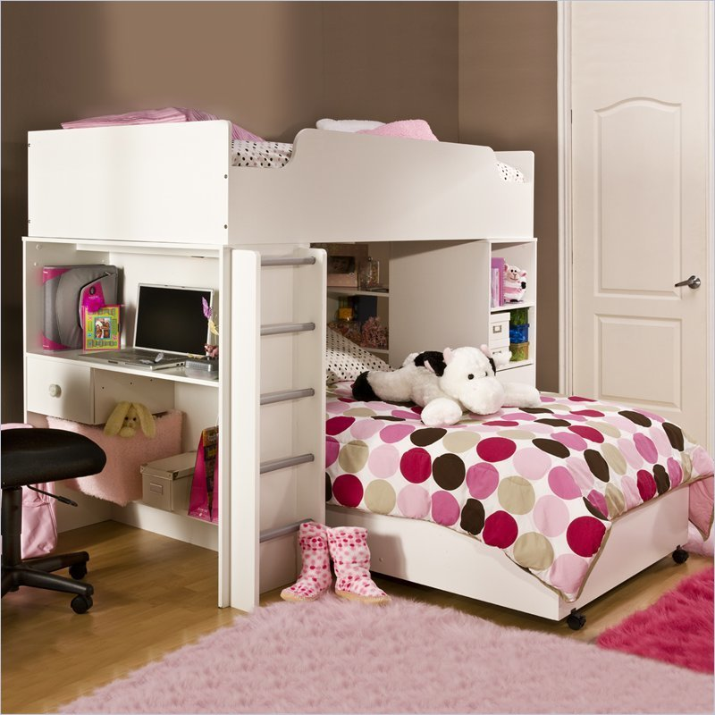 Girls Loft Bed, 1000+ Images About Teen Loft Beds On Pinterest