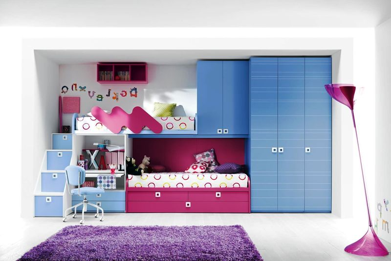 Girls Loft Bed, Loft Beds For Girls And Desk