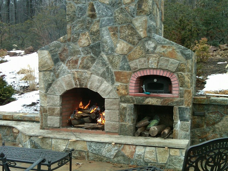 Outside Fireplace Plans, 1000+ Images About Patio On Pinterest
