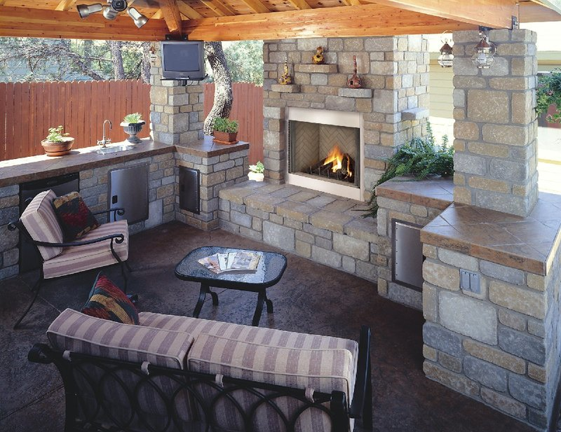 Outside Fireplace Plans, 1000+ Images About Outdoor Fireplaces On Pinterest
