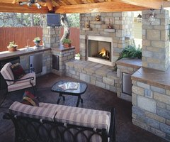 1000+ Images About Outdoor Fireplaces On Pinterest