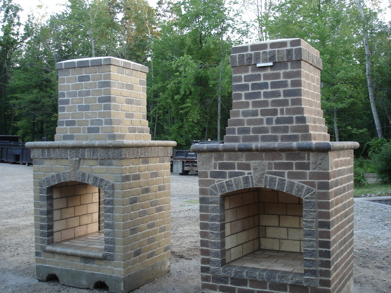 Outside Fireplace Plans, 1000+ Images About Trafalgar Patio Fireplace On Pinterest