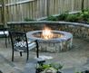 Natural Outdoor Fireplace Plans