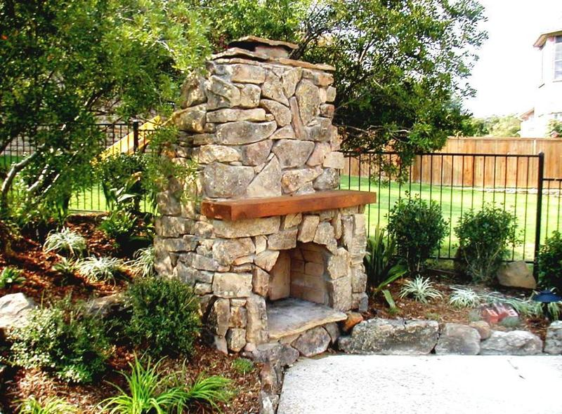 Outside Fireplace Plans, Brick Outdoor Fireplace Plans