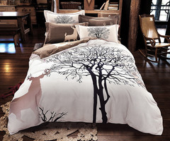 Online Get Cheap Deer Comforter Set