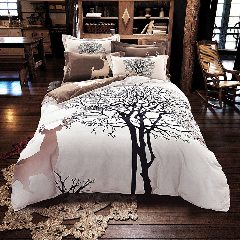 Tree King Comforter Sets, Online Get Cheap Deer Comforter Set