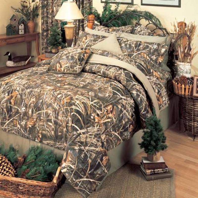 Tree King Comforter Sets, Real Tree Max 4 Camo King Comforter Set