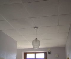 Polystyrene Ceiling Tiles Fire Hazard