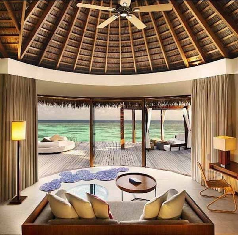Modern Elegant Tropical Beach Resort Design, 1000+ Images About Tropical Home Interior Ideas On Pinterest