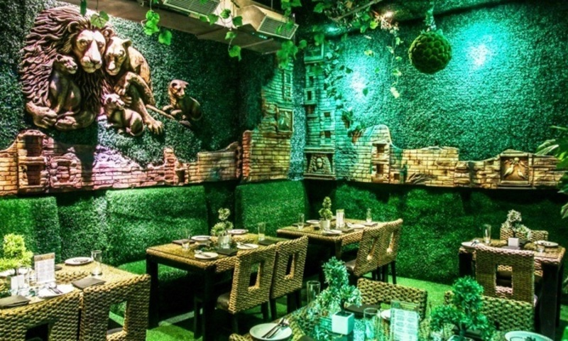 Underwater Restaurant Menu Card In Wtp Jaipur, Jungle Jamboree Sector 29, Special Offers On Food & Beverages By Nearbuy