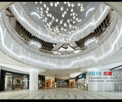 Fashionable Shopping Mall Design 02 3 D Model Max