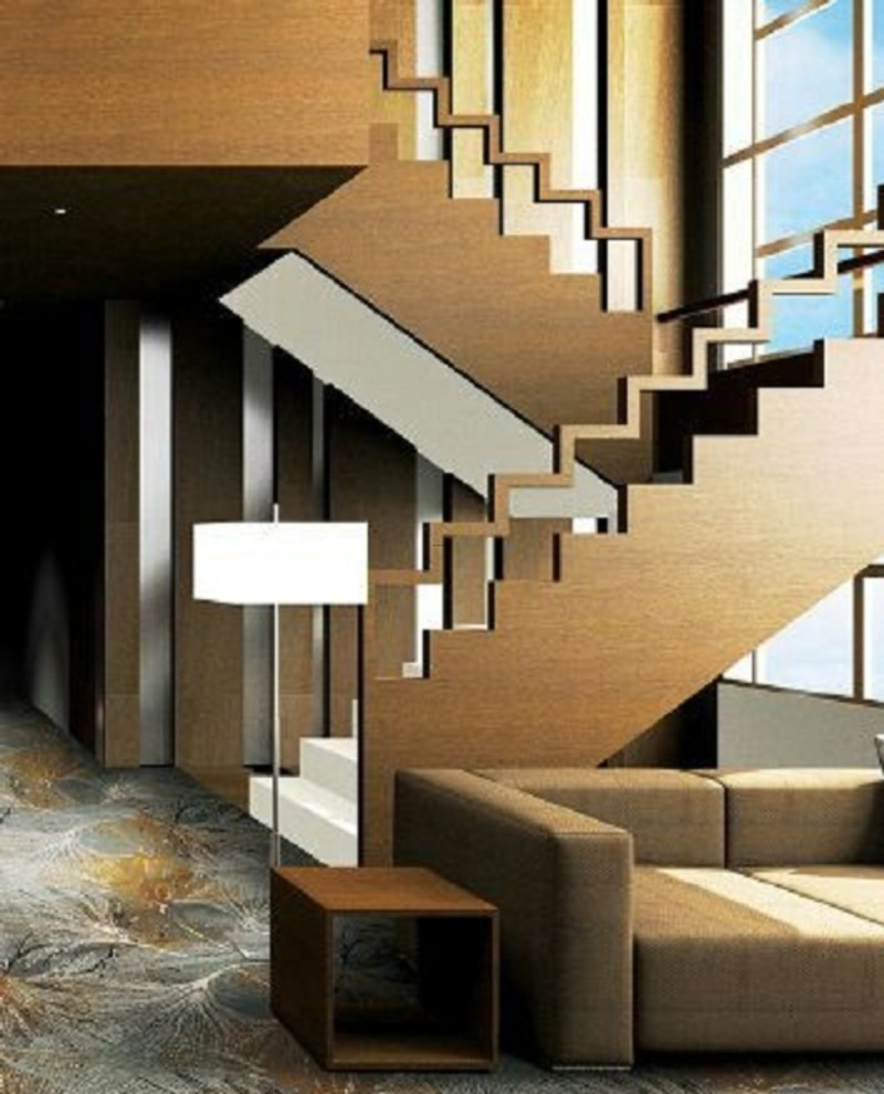 Staircase Railing Modern, Trends Of Stair Railing Ideas And Materials (Interior & Outdoor)