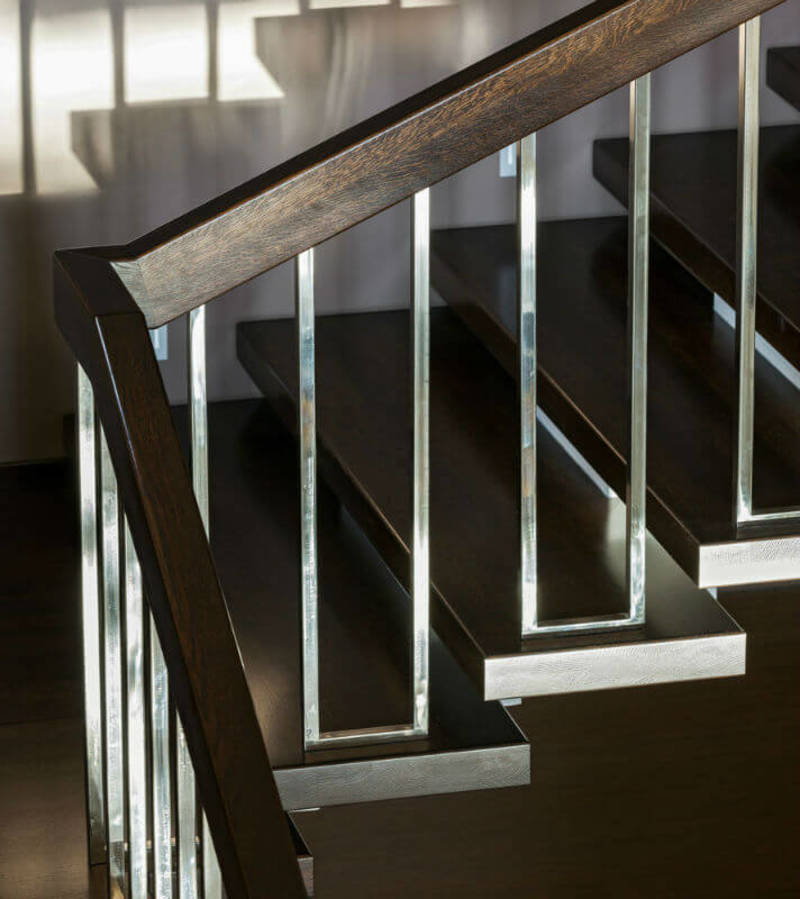 Staircase Railing Modern, 21 Modern Stair Railing Design Ideas (Pictures)