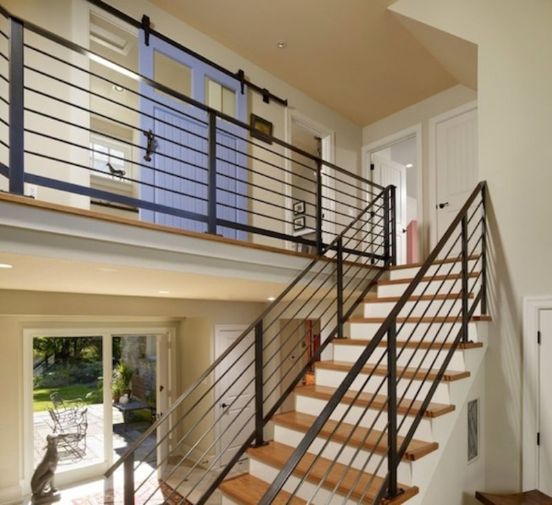 Staircase Railing Modern, Choosing The Perfect Stair Railing Design Style
