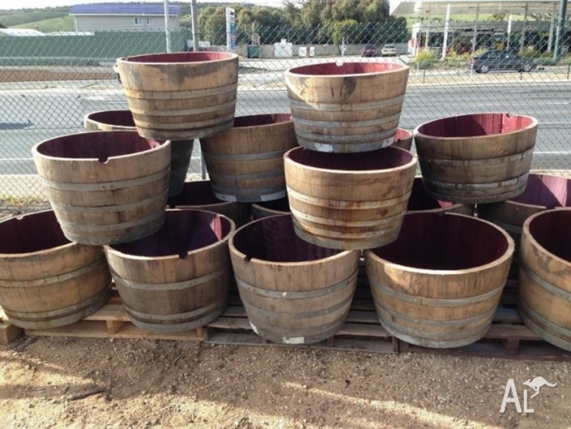 Half Wine Barrels For Sale, Half Wine Barrels For Sale  In Noarlunga Centre, South Australia Classified
