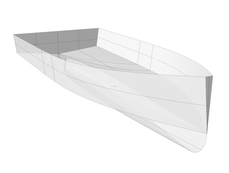 Boat Design, Hull Design For A Small Displacement Boat