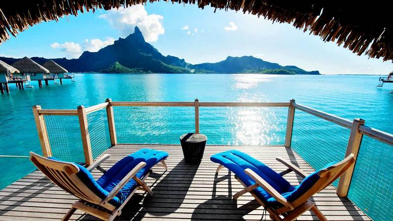 Luxury Leisure Bungalow, Overwater Bungalows With Glass Floor