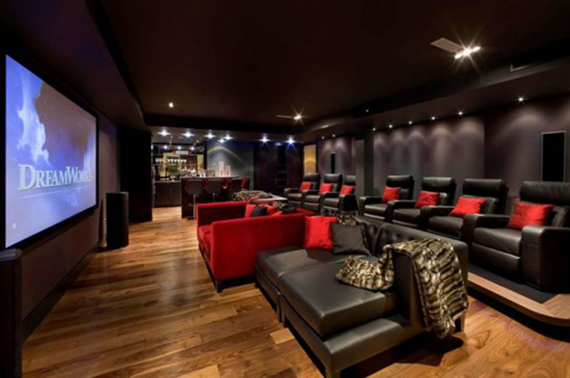 Media Room, 17 Best Images About Media Rooms On Pinterest
