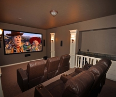 Dallas Home Theater Basic Media Rooms