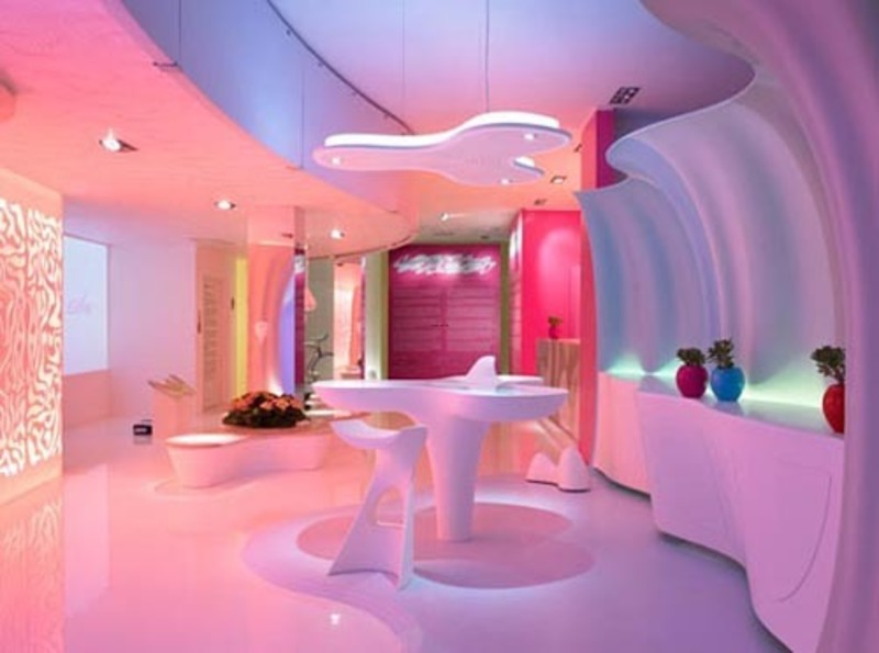 Amazing Home Interior Design, Amazing Futuristic Home Interior Design By Karim Rashid