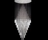 "New ! Modern Contemporary Chandelier ""Rain Drop"" Chandeliers H 100"" W 41"" (Over 8ft Tall!)"