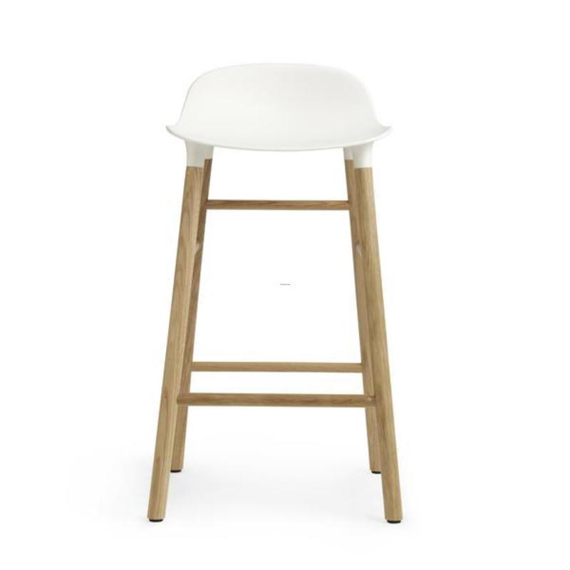 Wooden Bar Stool Legs, Normann Copenhagen Form Barstool