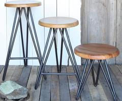 Harpoon Bar Stool