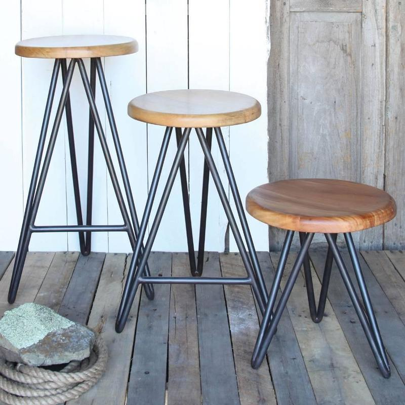 Wooden Bar Stool Legs, Harpoon Bar Stool