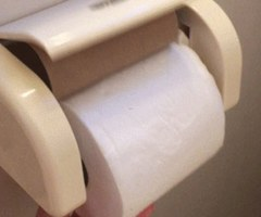 Reddit Users Go Wild For Japanese Toilet Paper Holder