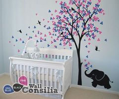 17 Best Ideas About Elephant Wall Decal On Pinterest