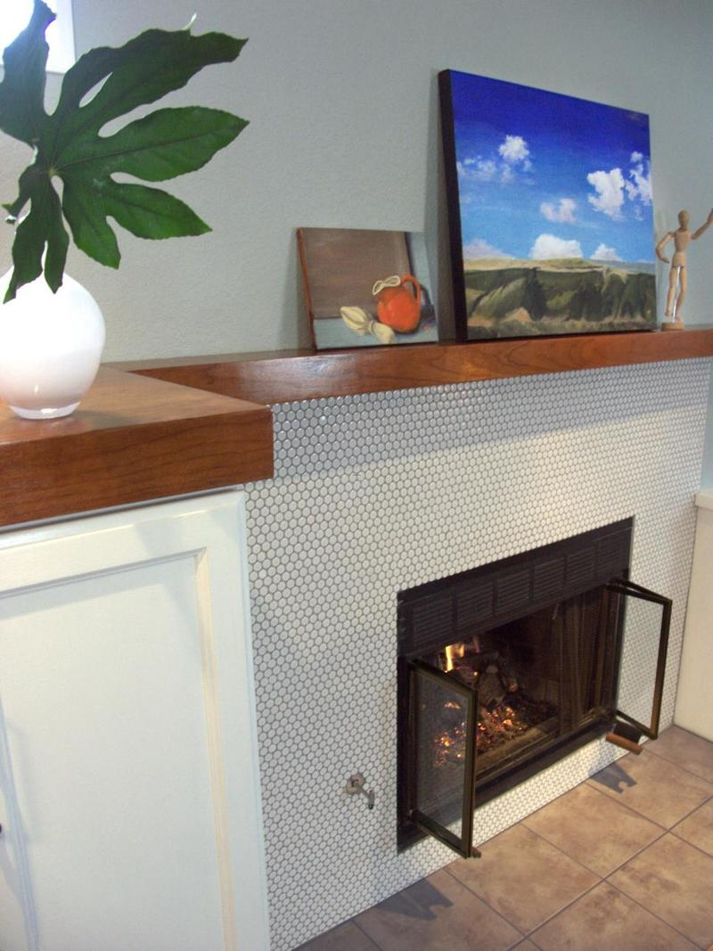 Tile Fireplace Designs, 10 Colorful Tile Fireplaces