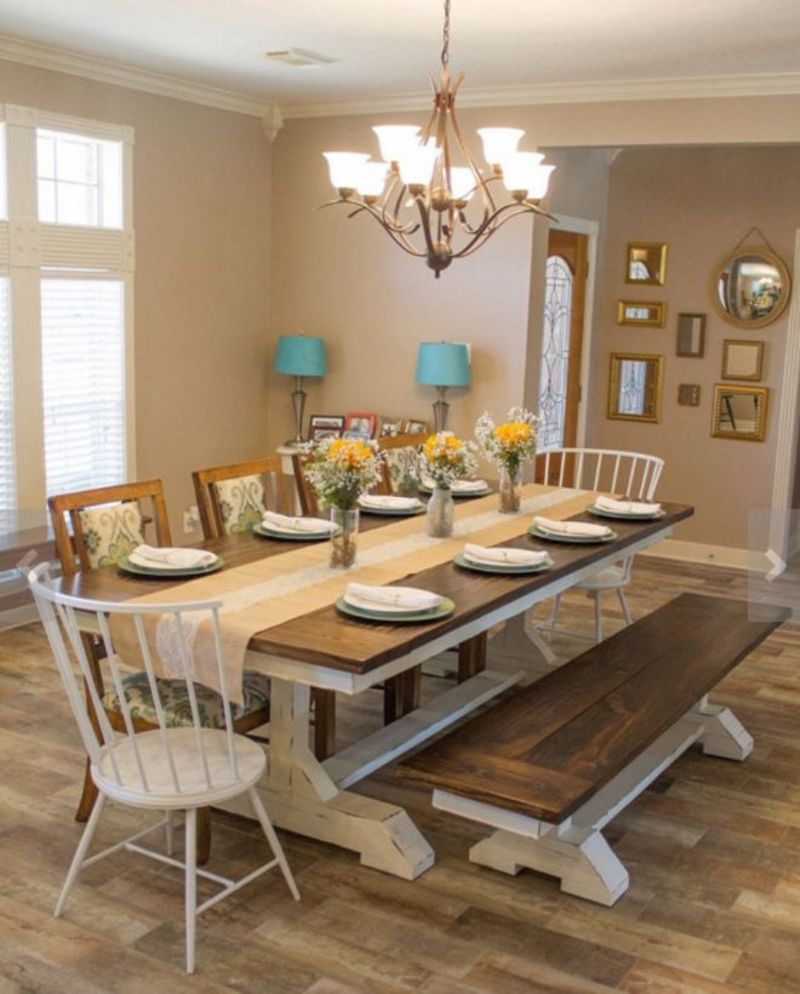 Farmhouse Table And Chairs, 17 Best Ideas About Farmhouse Table Chairs On Pinterest