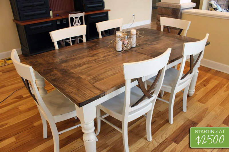 Farmhouse Table And Chairs, Unique Farmhouse Table I The Common Table